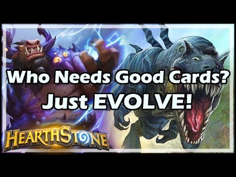 Who Needs Good Cards? Just EVOLVE! - Unstable Evolution | Rastakhan's Rumble Hearthstone