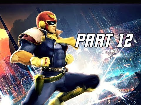 SUPER SMASH BROS ULTIMATE Gameplay Walkthrough Part 12 - CAPTAIN FALCON
