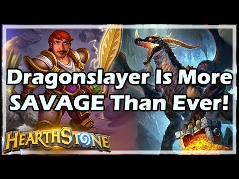 Dragonslayer Is More SAVAGE Than Ever! - Rastakhan's Rumble Hearthstone