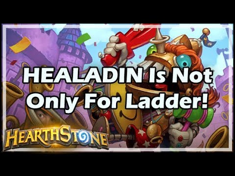 HEALADIN Is Not Only For Ladder!  - Rastakhan's Rumble Hearthstone