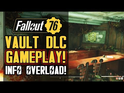 Fallout 76 - HUGE Vault 94 DLC Details! New Gameplay! Community Council! New Mutations & Enemies?