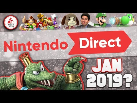 A NEW Nintendo Direct RUMORED for January 2019, What Do YOU WANT Announced?