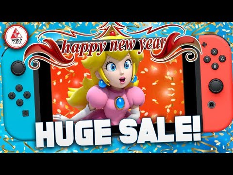 HUGE Nintendo Switch eShop Sale for NEW YEARS 2019!