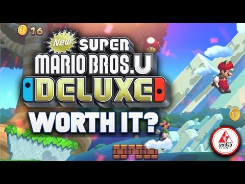 Is The NEW Super Mario Bros U Deluxe WORTH IT.. Are WE Excited?