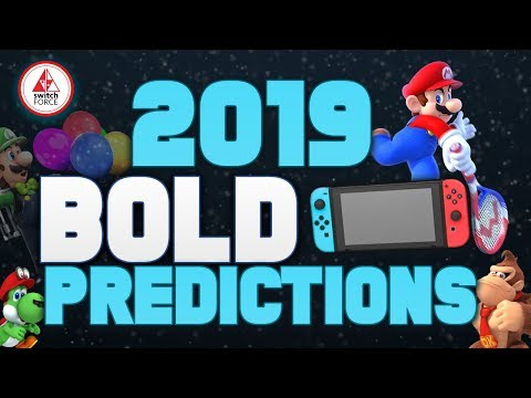 Nintendo 2019 BOLD Predictions for New Switch Games or DLC and NEW Switch Joycons!
