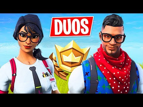 Fortnite RANDOM DUOS Trolling!! // Pro Fortnite Player // 1800 Wins // Fortnite Live Gameplay
