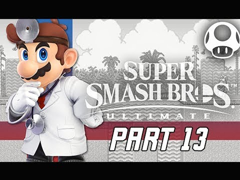 SUPER SMASH BROS ULTIMATE Gameplay Walkthrough Part 13 - Dr. Mario
