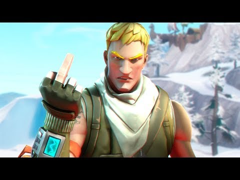 The Angriest Player in Fortnite History