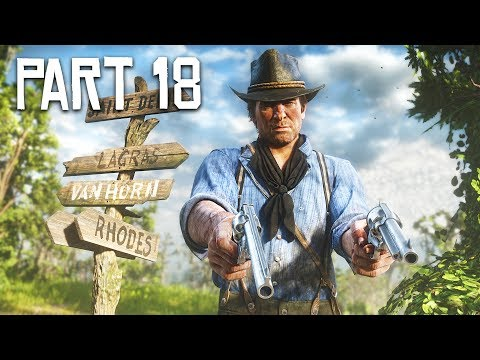 Red Dead Redemption 2 Gameplay Walkthrough, Part 18!! (RDR 2 PS4 Gameplay)