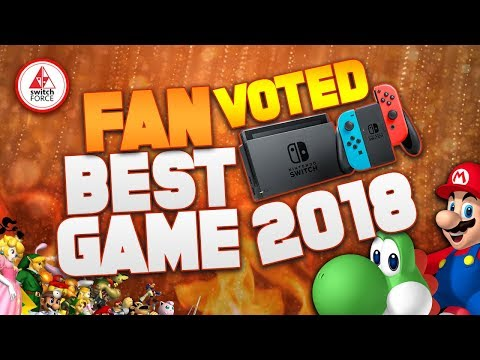 The BEST Switch Game of the Year 2018! (Fan Vote Switch GOTY)
