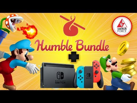 New Switch Games And Switch Deals Without eShop, NOW on Humble Bundle!