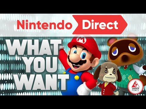 What YOU WANT from the Nintendo Direct January 2019 Event! (CommentForce)
