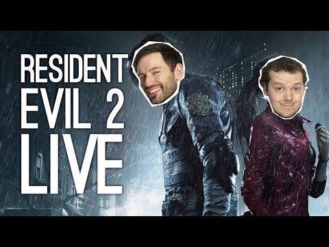 LIVE Resident Evil 2 Remake! Outside Xbox Plays Resident Evil 2 Remake Demo Live on Xbox One