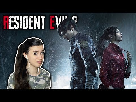 TIME TO GET SPOOKED... | Resident Evil 2 Demo Gameplay