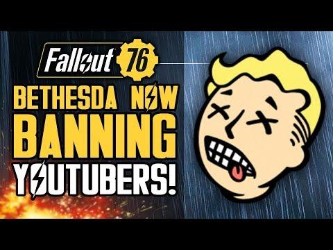 Fallout 76 - Bethesda Banning YOUTUBERS!  Stash Size Increase?  Energy Weapons Feedback!