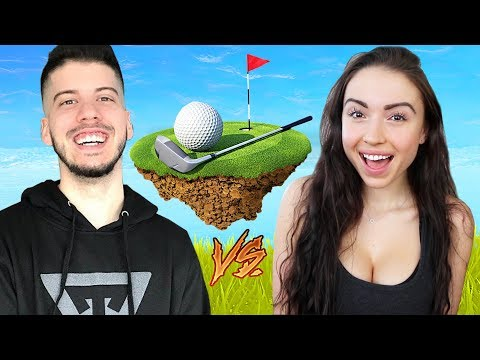 BOYFRIEND vs GIRLFRIEND in GOLF IT!!