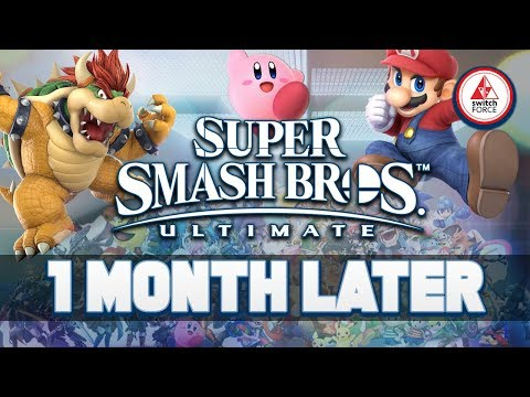 Super Smash Bros Ultimate.. One Month Later, What's The Verdict? (Smash Ultimate Switch)