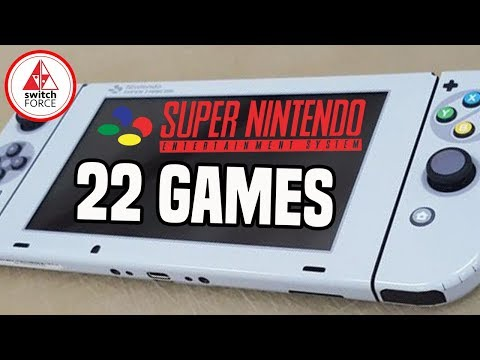 SNES Games FINALLY Coming To Swich? NEW Datamine Reveals 22 Titles