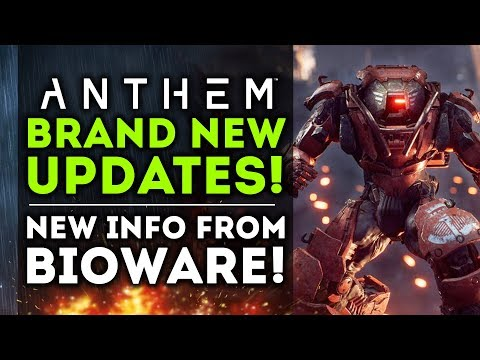 Anthem - NEW UPDATES!  Pre-Load Demo Date & New Gameplay Details!