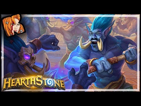 The WORST Board Clear In HISTORY! - Rastakhan's Rumble Hearthstone
