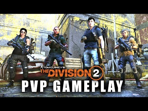 The Division 2 - NEW PVP GAMEPLAY! Team Deathmatch Skirmish Multiplayer Gameplay!