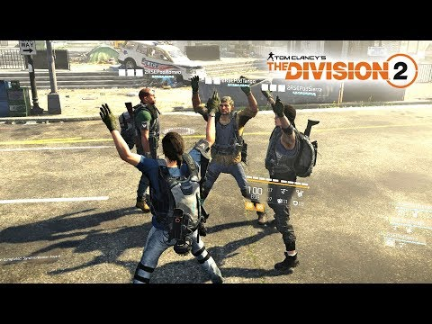 The Division 2 - NEW DARK ZONE SQUAD GAMEPLAY with FUNNY MOMENTS!