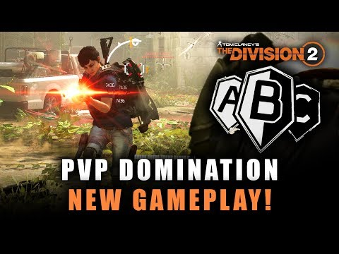 The Division 2 - NEW DOMINATION PVP GAMEPLAY! Intense Multiplayer Battles!
