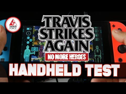 Switch Handheld Test - Travis Strikes Again No More Heroes | Nintendo Switch