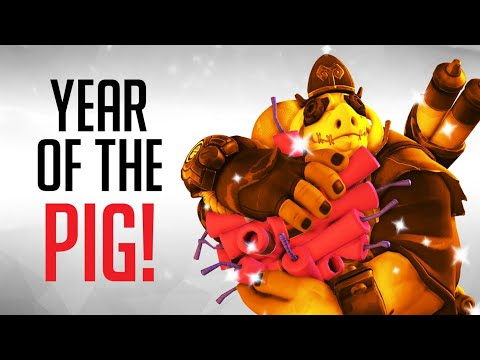 10 Year of the Pig Skins We Want in Overwatch