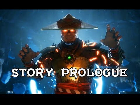Mortal Kombat 11 Story Prologue & Intro + Raiden Gameplay (MK11 Gameplay)