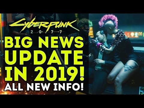 Cyberpunk 2077 - HUGE NEWS UPDATE!  New Open World Info! New Weapons! New Gameplay Details!