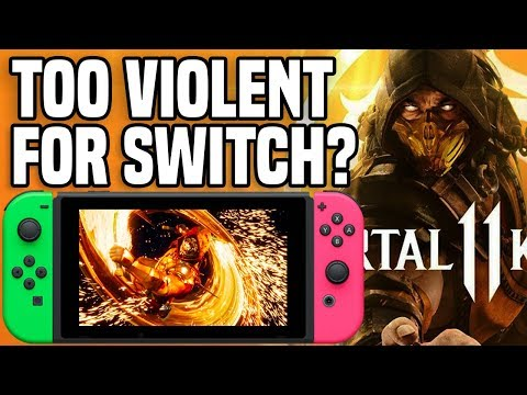Does Mortal Kombat 11 Have TOO MUCH Blood and Gore for Nintendo Switch?