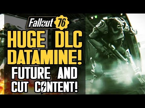 Fallout 76 - HUGE DLC Datamine! Future and Cut Content! Procedural Dungeons PVP Events and More!