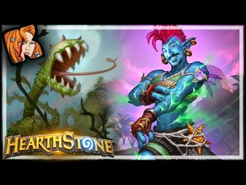 12-0? Remember Not To Cross Rania - Rastakhan's Rumble Hearthstone