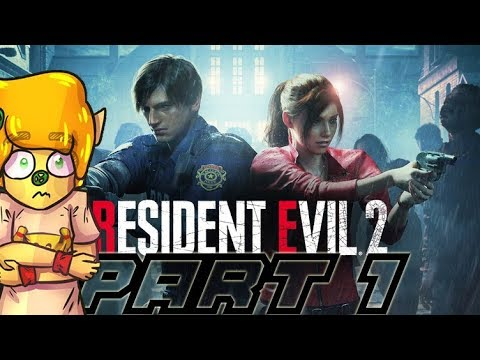 THIS GAME IS SCARY RESIDENT EVIL 2 REMAKE - Gameplay PS4 PART 1