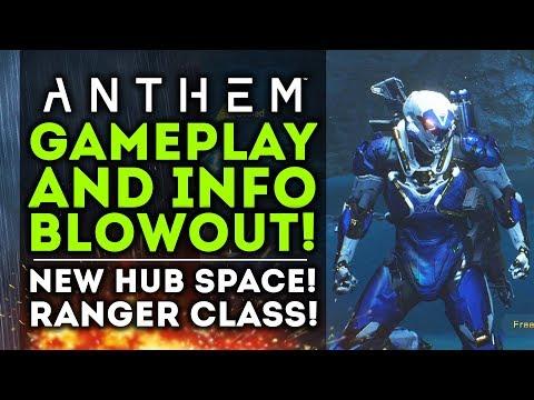 Anthem - NEW GAMEPLAY BLOWOUT! New Hub Space! Ranger Class! Titan Boss Battles!