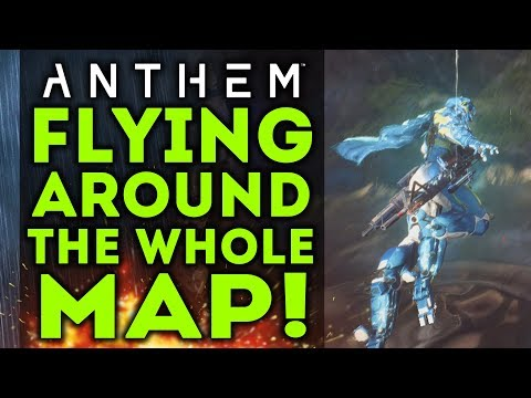 Anthem - I Flew Around The Whole Map! This Is What I Saw! New Free Roam Gameplay!