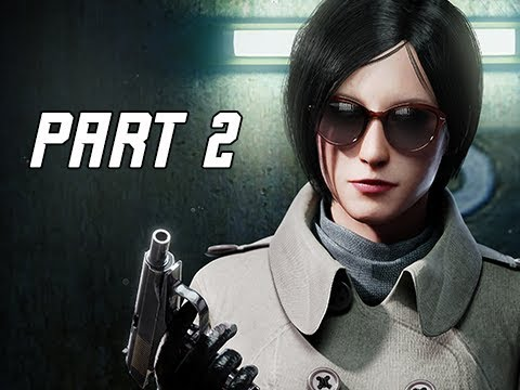 RESIDENT EVIL 2 REMAKE Walkthrough Part 2 - ADA WONG (Let's Play RE2 Remake)