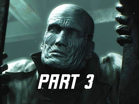 RESIDENT EVIL 2 REMAKE Walkthrough Part 3 - MR. X (Let's Play RE2 Remake)