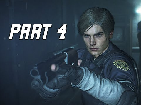 RESIDENT EVIL 2 REMAKE Walkthrough Part 4 - (Let's Play RE2 Remake)