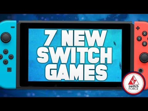 7 INTERESTING NEW Switch Games JUST ANNOUNCED!