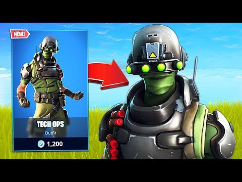 New Tech Ops Soldier Skin! // Pro Fortnite Player // 1900 Wins // Fortnite Live Gameplay
