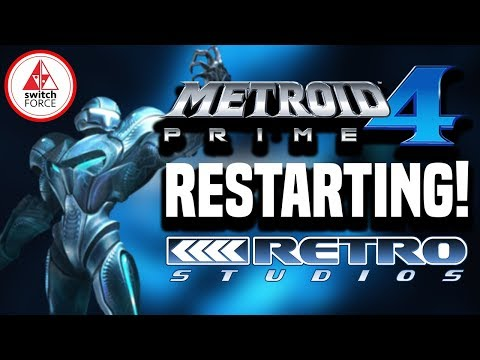 Metroid Prime 4 Development Scrapped! Retro Taking Over and Starting Over!!