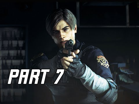 RESIDENT EVIL 2 REMAKE Walkthrough Part 7 - Sewers (Let's Play RE2 Remake)
