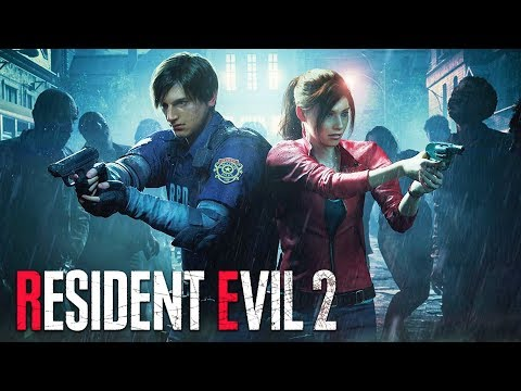 THIS GAME IS SCARY!! (Resident Evil 2 Remake)