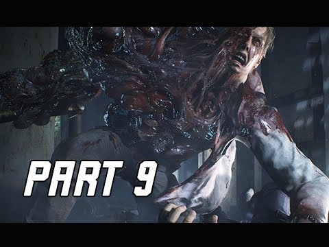 RESIDENT EVIL 2 REMAKE Walkthrough Part 9 - NEST & Greenhouse (Let's Play RE2 Remake)
