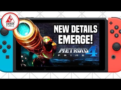 Metroid Prime 4 BREAKING NEW DETAILS EMERGE! And Metroid Prime Trilogy Nintendo Switch