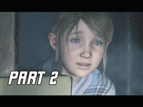 RESIDENT EVIL 2 REMAKE Walkthrough Part 2 - SHERRY (Let's Play RE2 Remake)