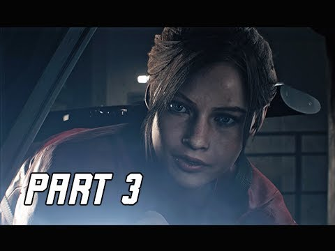RESIDENT EVIL 2 REMAKE Walkthrough Part 3 - Police Chief's Offiice (Let's Play RE2 Remake)