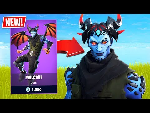 *NEW* Malcore Skin w/ Dragon Wings! Pro Fortnite Player // 1900 Wins // Fortnite Live Gameplay